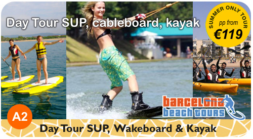Half Day Beach Tour SUP, Kayak and Hobie Cat Sailing